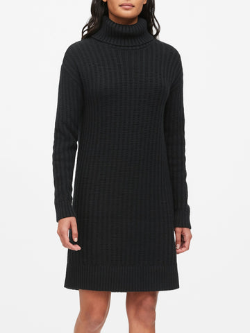Banana Republic Petite Turtleneck Dress Sz: XS