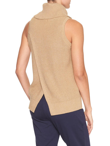 Banana Republic Split Back Cowl Tank Sz: S