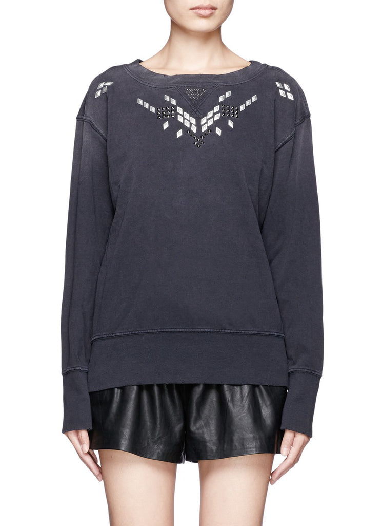 Current/Elliot Studded Sweatshirt Sz:3