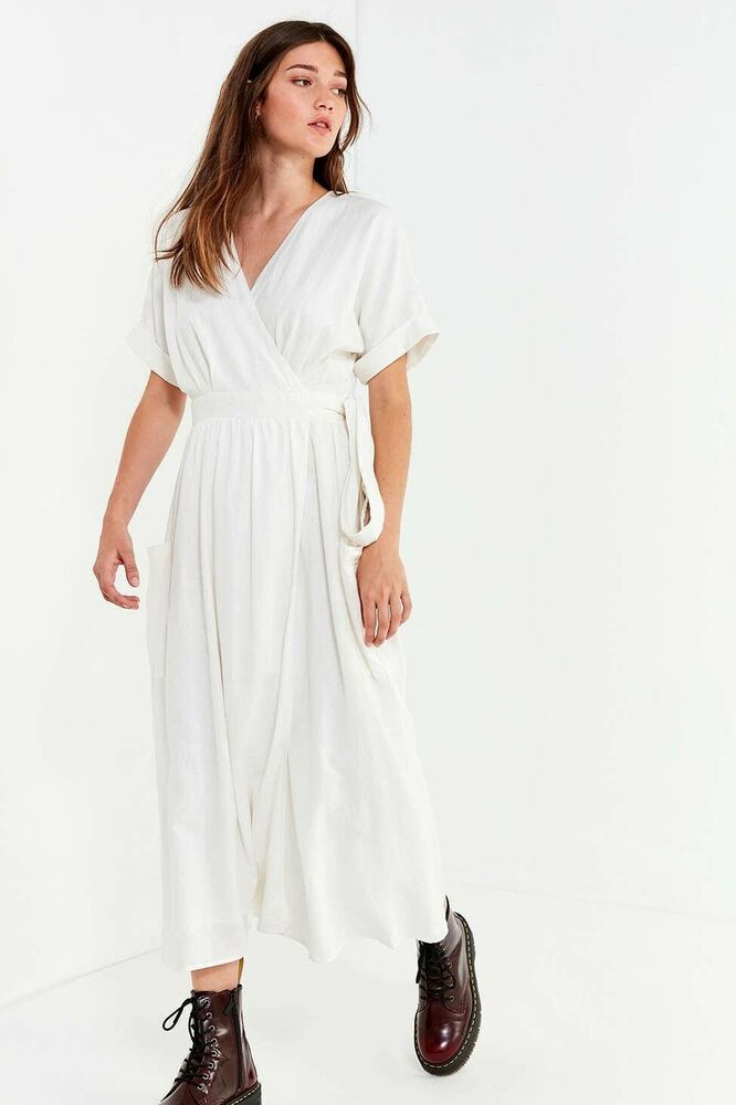 Urban Outfitters Linen Dress Sz: XS