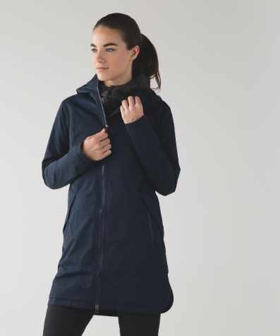 Lululemon Definitely Raining Jacket Size 6
