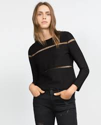 Zara Cut Out Sweater Sz: S