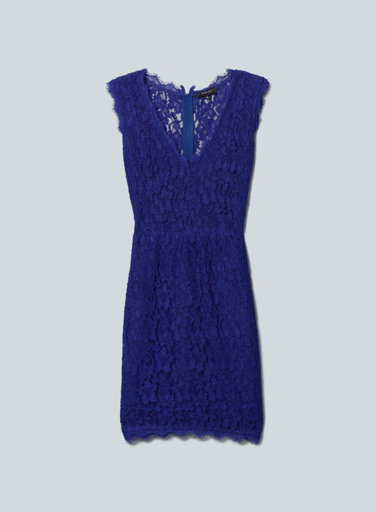 Babaton Blue Anton Lace Dress Size 2