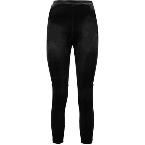Boohoo Eboni Velvet Leggings Sz: 12