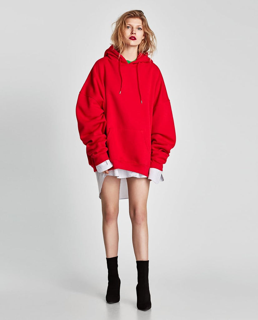 Zara Over-sized Hoodie Sz: Small