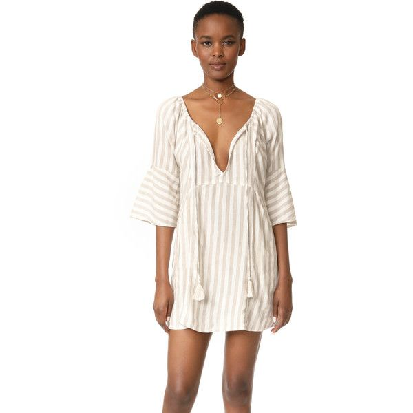 Free People Folk Town Mini Dress Sz: L