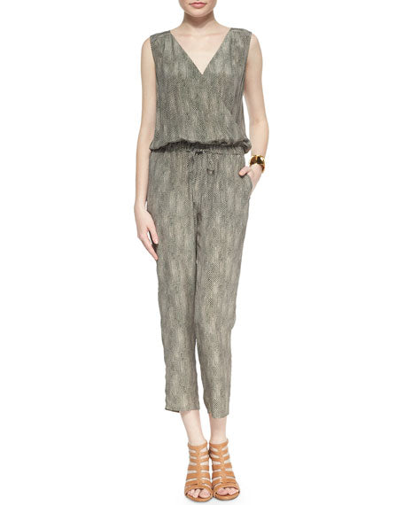 Eileen Fisher Silk Jumpsuit Sz: S
