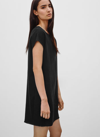 Wilfred Free Nori black suede dress Sz xxs