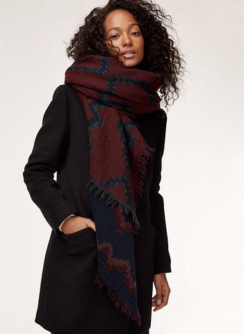 Wilfred Diamond Mosaic Scarf