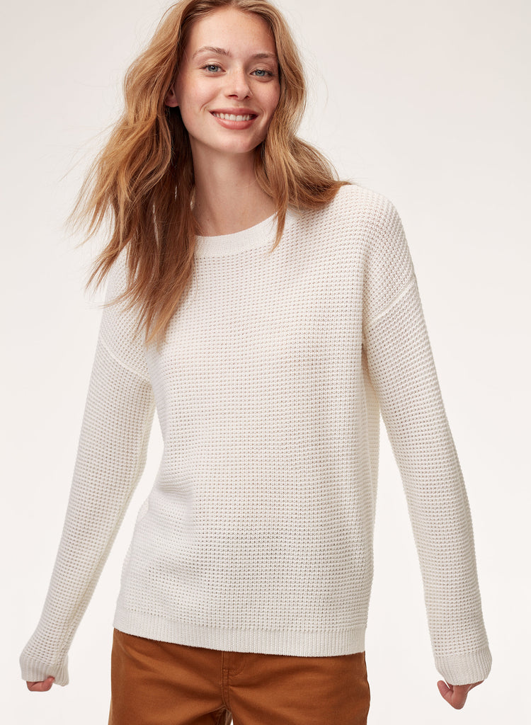 Wilfred Free Cream Isabelli Sweater Sz: L