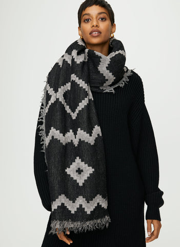 Wilfred Mosaic Blanket Scarf - On Hold