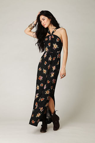 Free People Halter Maxi Dress Sz: S