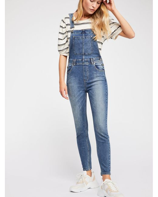 Free People Dawn Overalls Sz:30