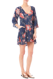 Free People Floral Dress Sz: 2