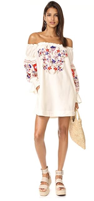 Free People Fleur du Jour Dress Sz: L