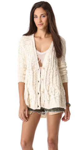 Free People Knit Cardigan Sz. L