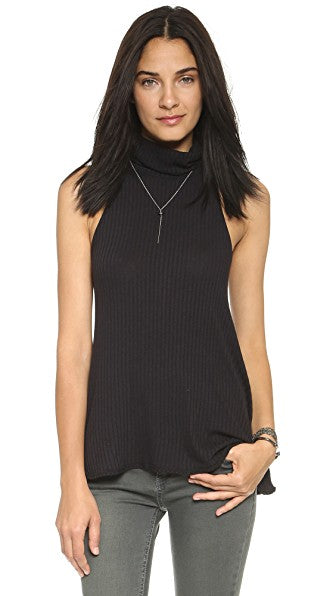 Free People Drippy Rib New City Top Small $28