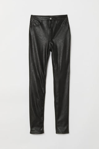 H&M Divided Leather Pants Sz: 0