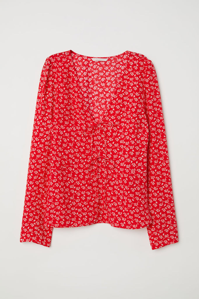 H&M floral blouse NWT!