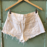 Free People Frayed Shorts Sz: 28