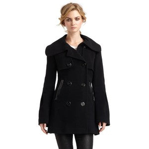Mackage Double-Breasted Pea Coat Sz: S