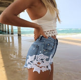 Toby Heart Ginger Denim Shorts Sz: 2