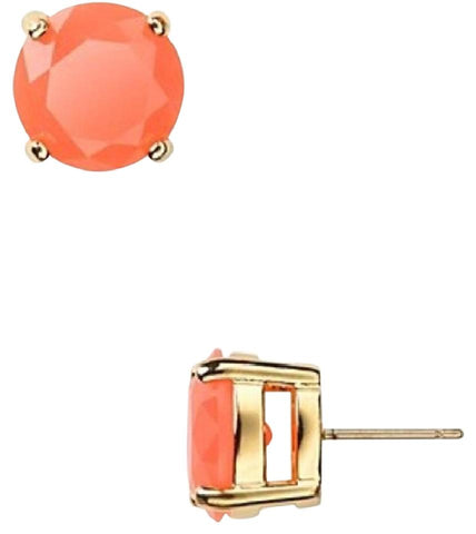 Kate Spade Flamingo Orange Studs