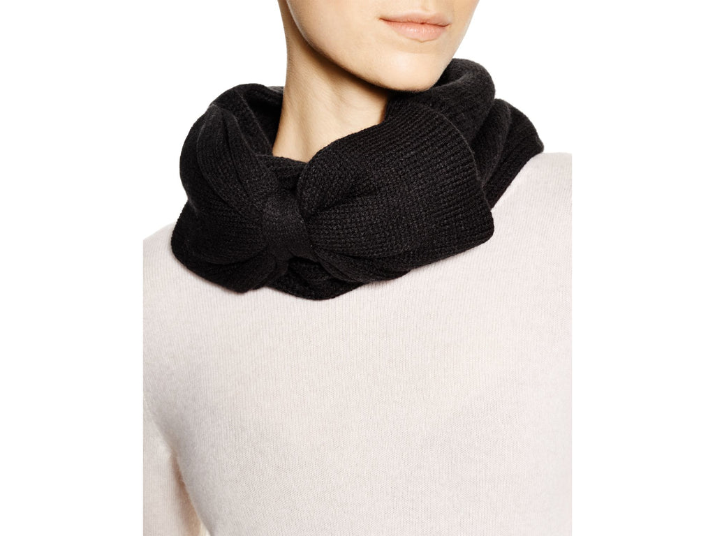 Kate Spade Gathered Bow Neckwarmer
