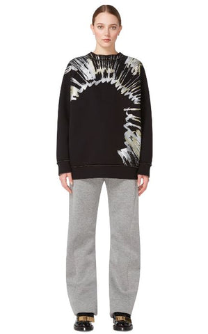 MARNI Dripping Paint Crewneck Sz: M/L