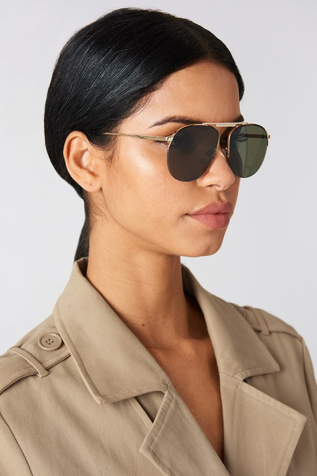 Liberation by Le Specs Aviator Sunglasses