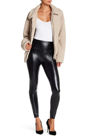 Love, Fire Leather Leggings Sz: XL