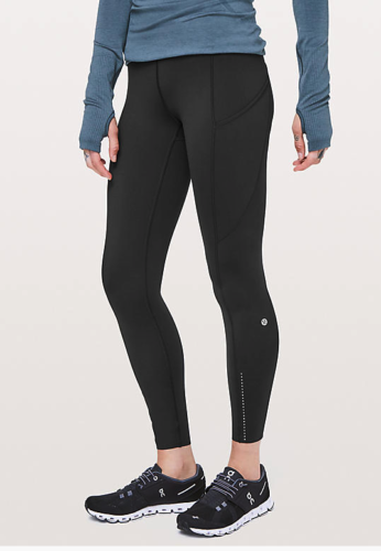 8b25d65603237 Lululemon Fast & Free 7/8 Tight II Sz: 6 – Peacock Boutique Consignment