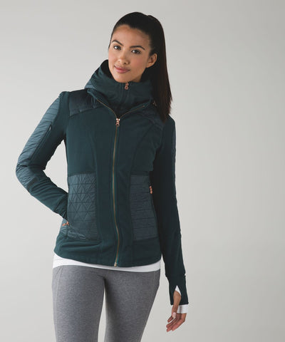 Lululemon Fleecy Keen Jacket III Sz: 12