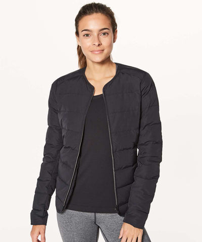 Lululemon Just Enough Puff Jacket Sz 4