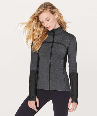 Lululemon 'Mesh is More' Jacket Sz: 6