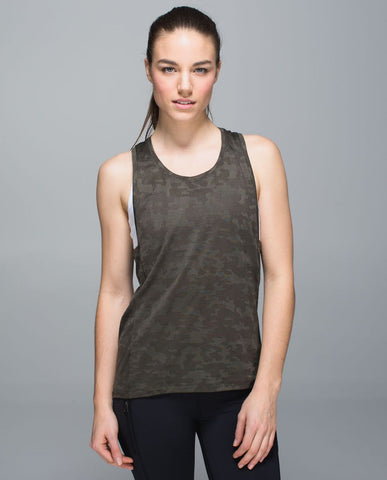 Lululemon Run for Days Tank Sz:8 NWT