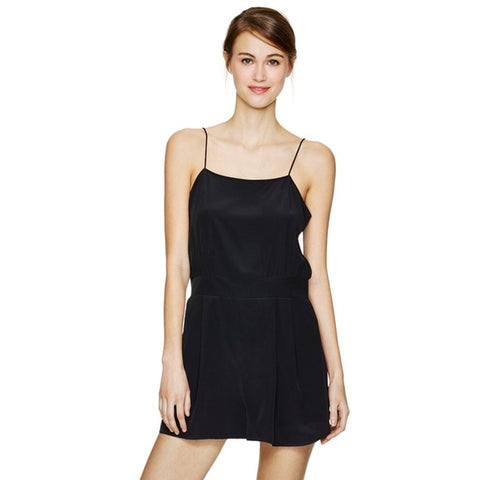Wilfred Chanteuse Silk Romper Sz: S
