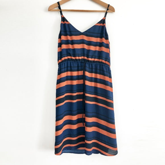 Babaton Casimir Striped Dress Sz L