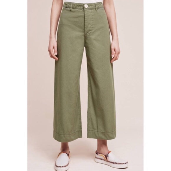 Pilcro Olive Green Pants Sz 30