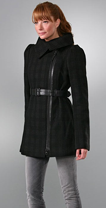 Mackage Aura Plaid Jacket Sz:XS