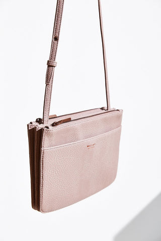 Matt and Nat Gil Crossbody Bag in Dusty Pink