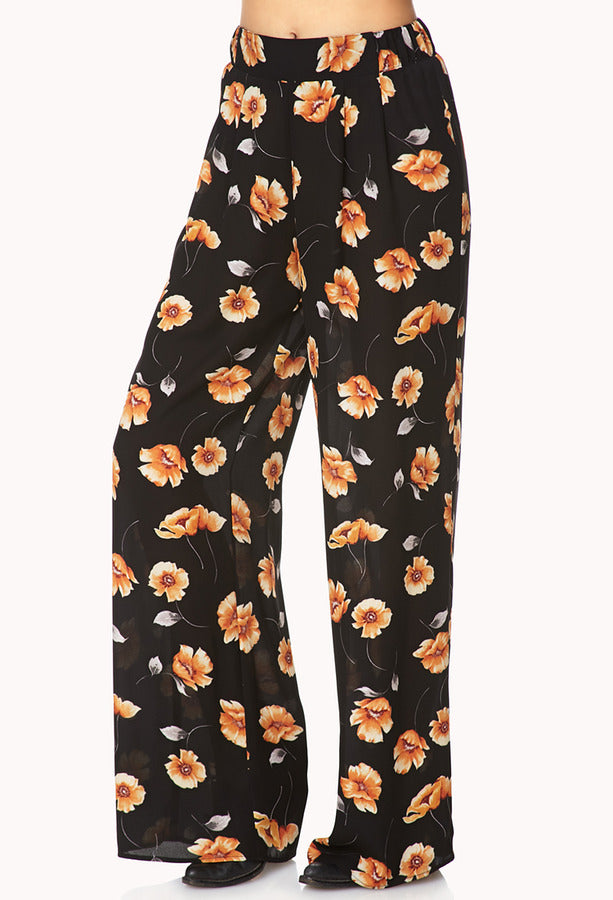 Forever 21 Perfect Pansy Pallazo Pants Sz: M
