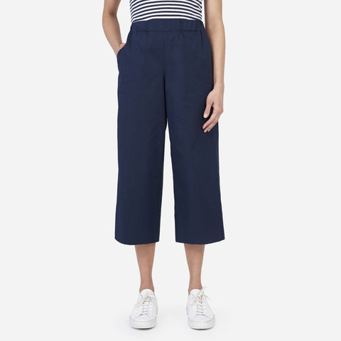 Everlane Cotton Poplin Culottes Sz: 8