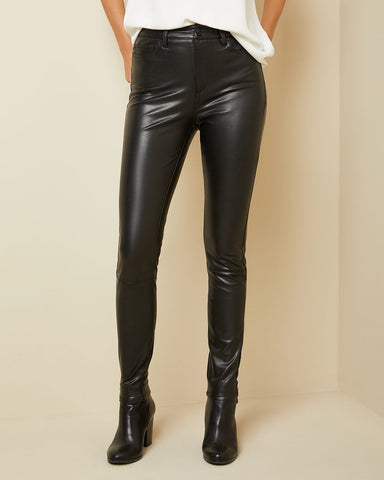 RW & Co. Faux Leather Pants Sz. 27