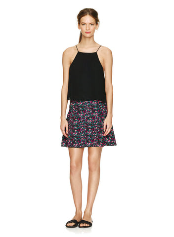 Wilfred Terrasse Floral Mini Skirt Sz: 8