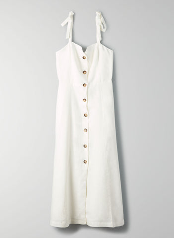 Wilfred Rosalie Dress Linen Sz: 10