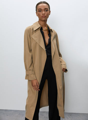 Babaton Lawson Trench Coat Sz: XS
