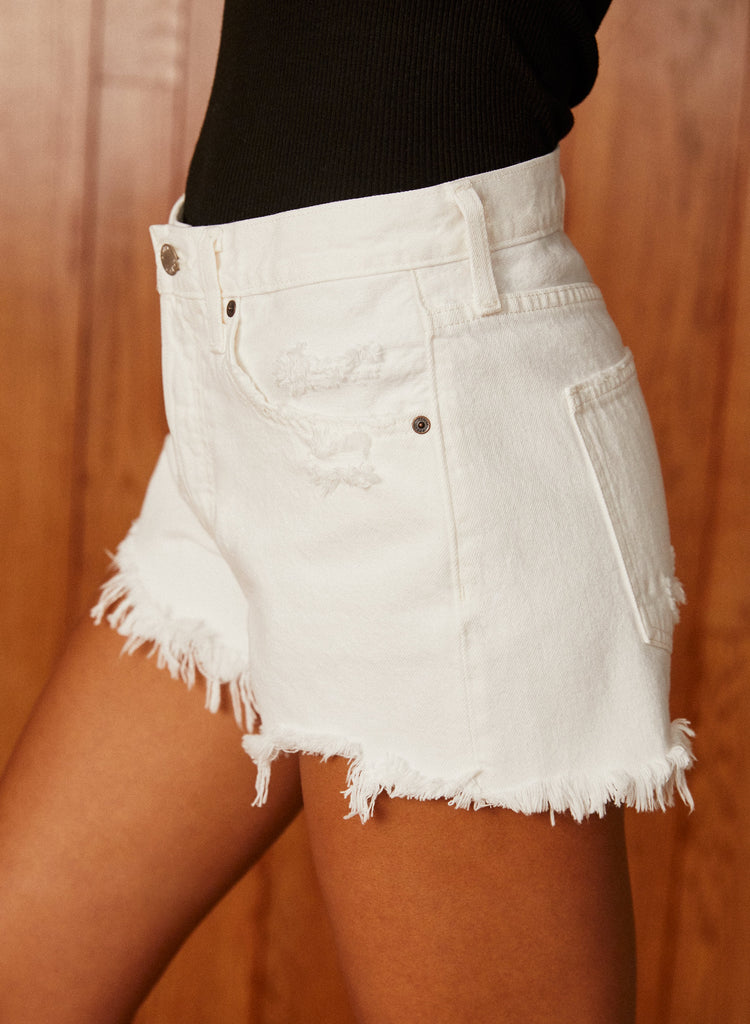 Denim Forum Ex-boyfriend Shorts Sz 26