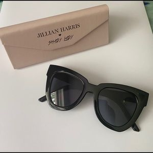 Jillian Harris Shady Lady Sunglasses w/Case