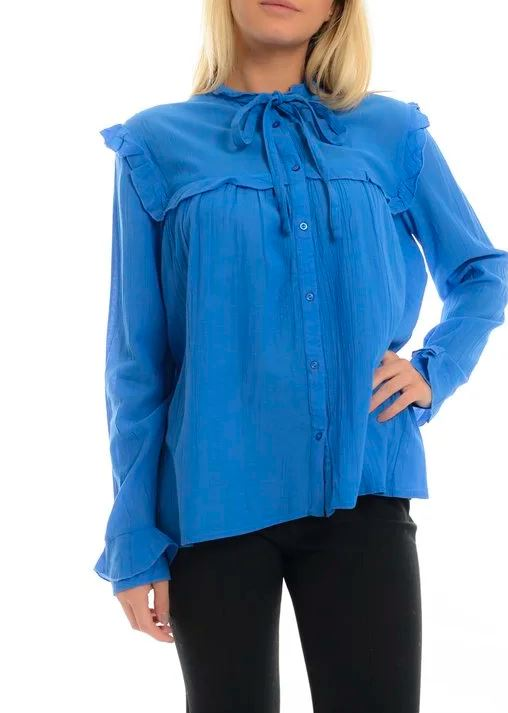 Soaked in Luxury Saylor Blouse Sz: S NWT!
